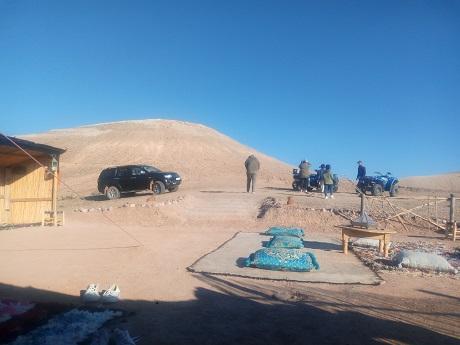 balade en Quad au désert Agafay