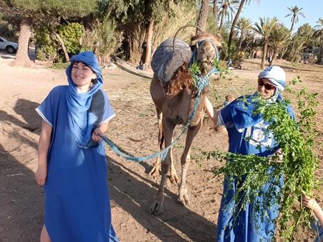 Balade en Dromadaire à Marrakech pas cher