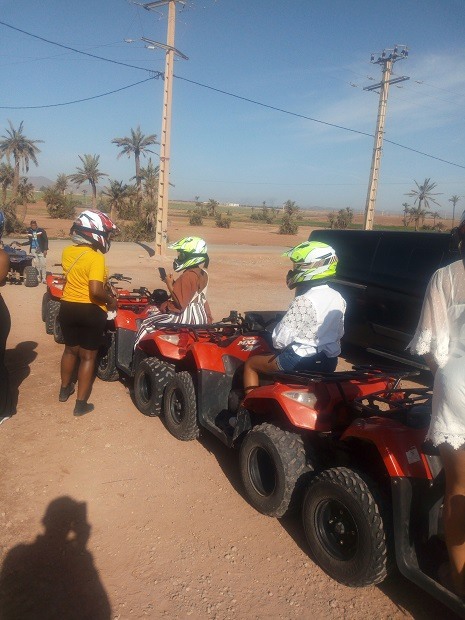 Balade en quad Marrakech