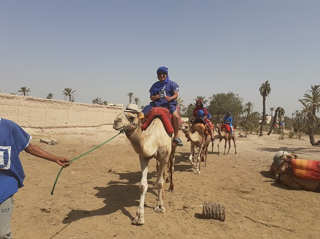 Balade en quad a la palmeraie Marrakech