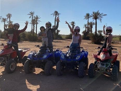 Balade en quad et chameau Marrakech