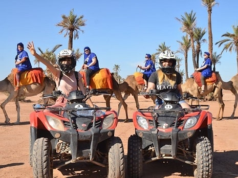 balade en chameau et quad Marrakech