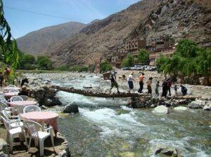 Excursion à la vallée de l'Ourika