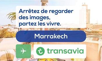 Transavia vol vers Marrakech